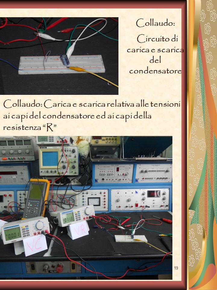 Circuito di carica e scarica del condensatore