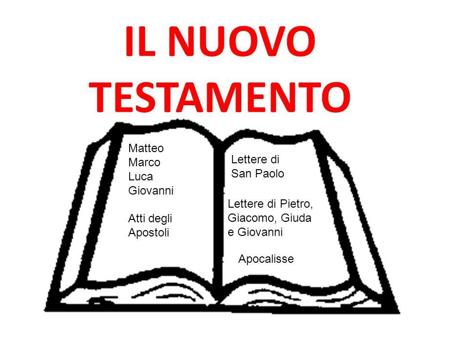 IL NUOVO TESTAMENTO Matteo Marco Lettere di Luca San Paolo Giovanni
