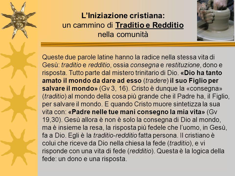 L'Iniziazione cristiana: