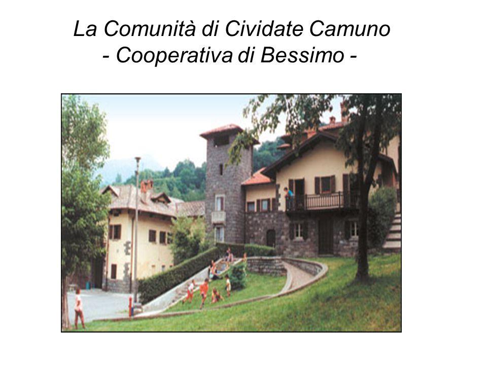La Comunità di Cividate Camuno - Cooperativa di Bessimo -