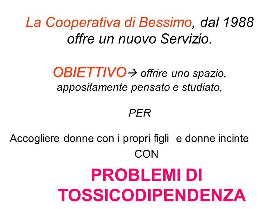 PROBLEMI DI TOSSICODIPENDENZA