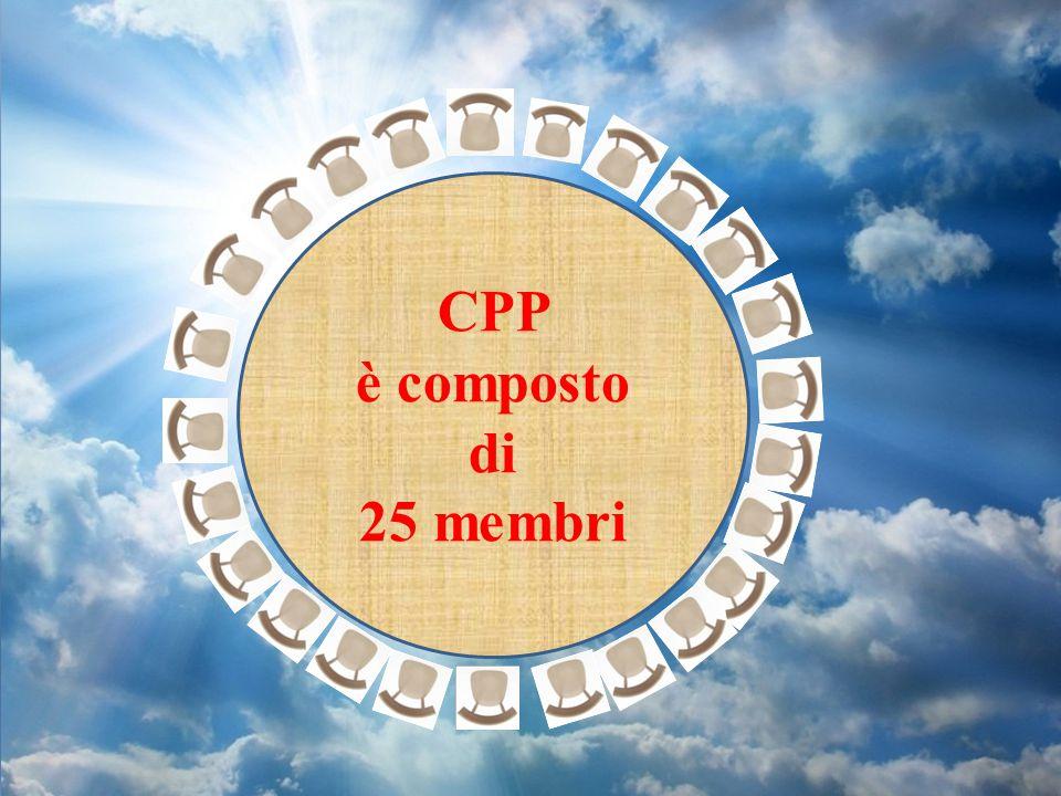 CPP è composto di 25 membri