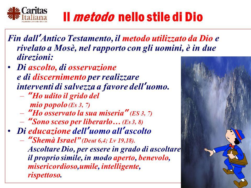 Il metodo nello stile di Dio