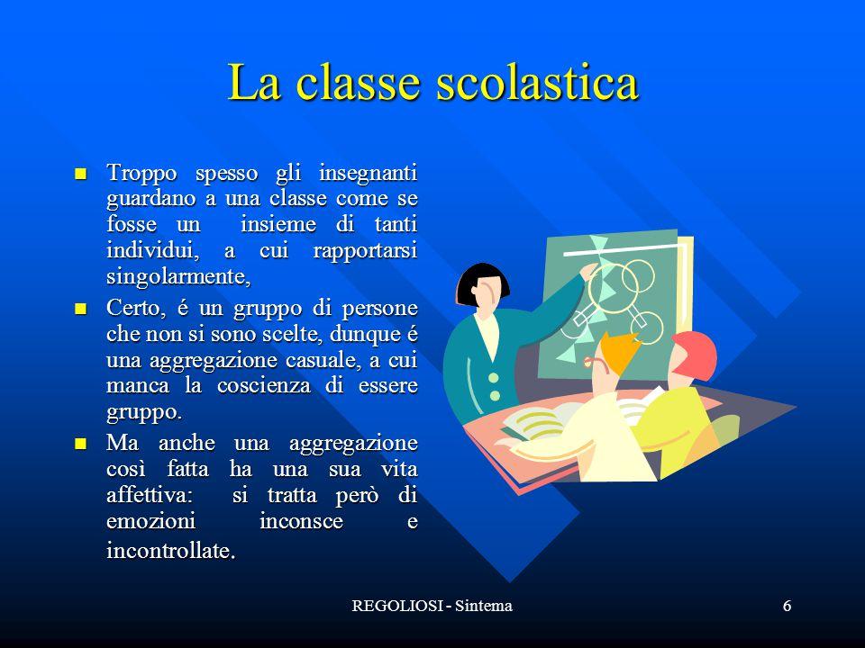 La classe scolastica