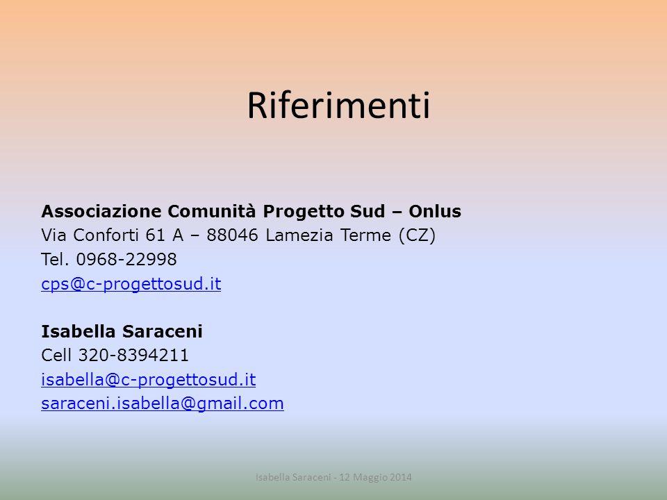 Isabella Saraceni - 12 Maggio 2014