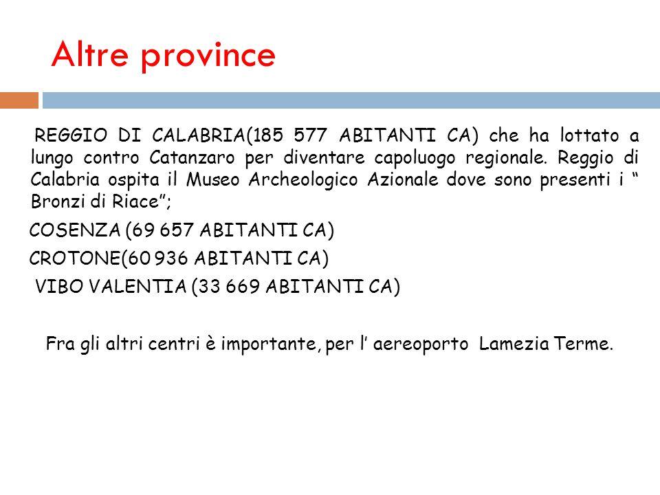 Altre province