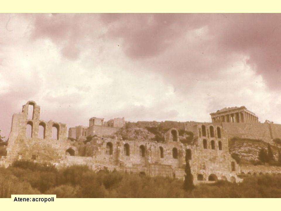 Atene: acropoli