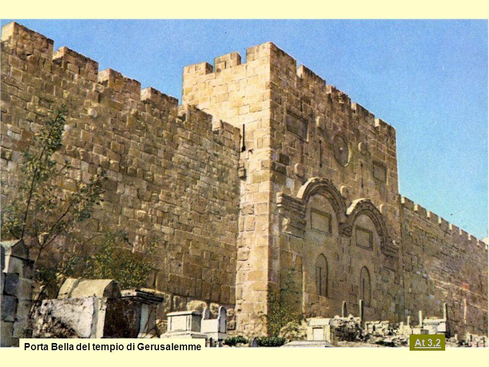 Porta Bella del tempio di Gerusalemme