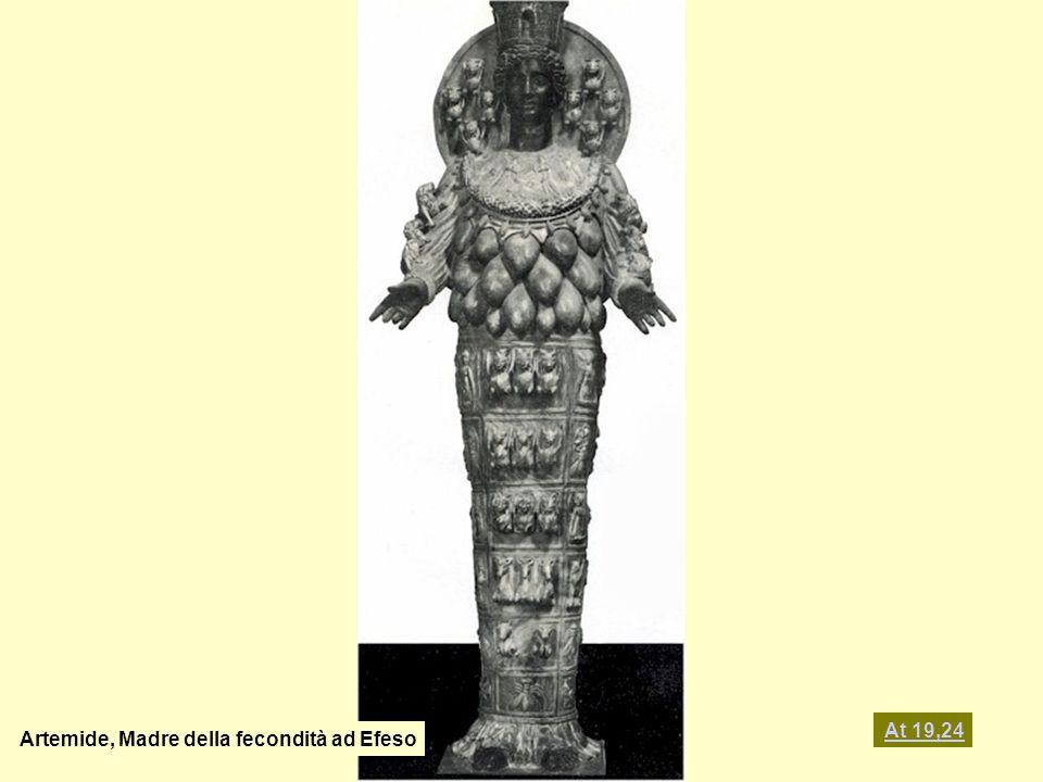 At 19,24 Artemide, Madre della fecondità ad Efeso