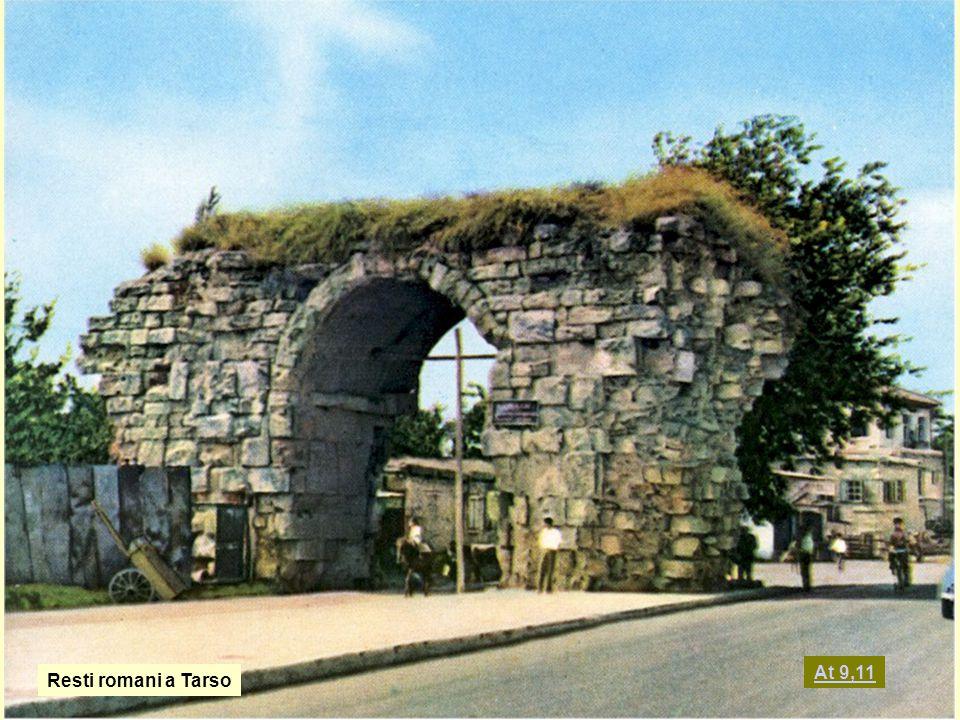 At 9,11 Resti romani a Tarso