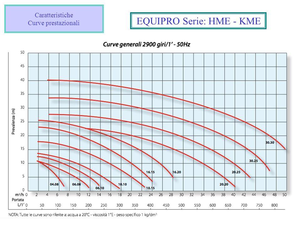 Caratteristiche Curve prestazionali