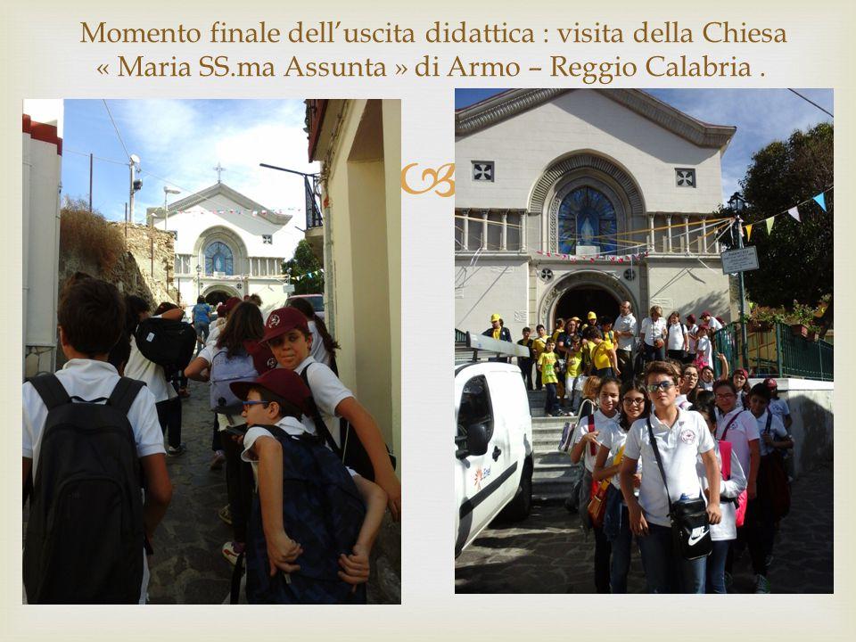« Maria SS.ma Assunta » di Armo – Reggio Calabria .