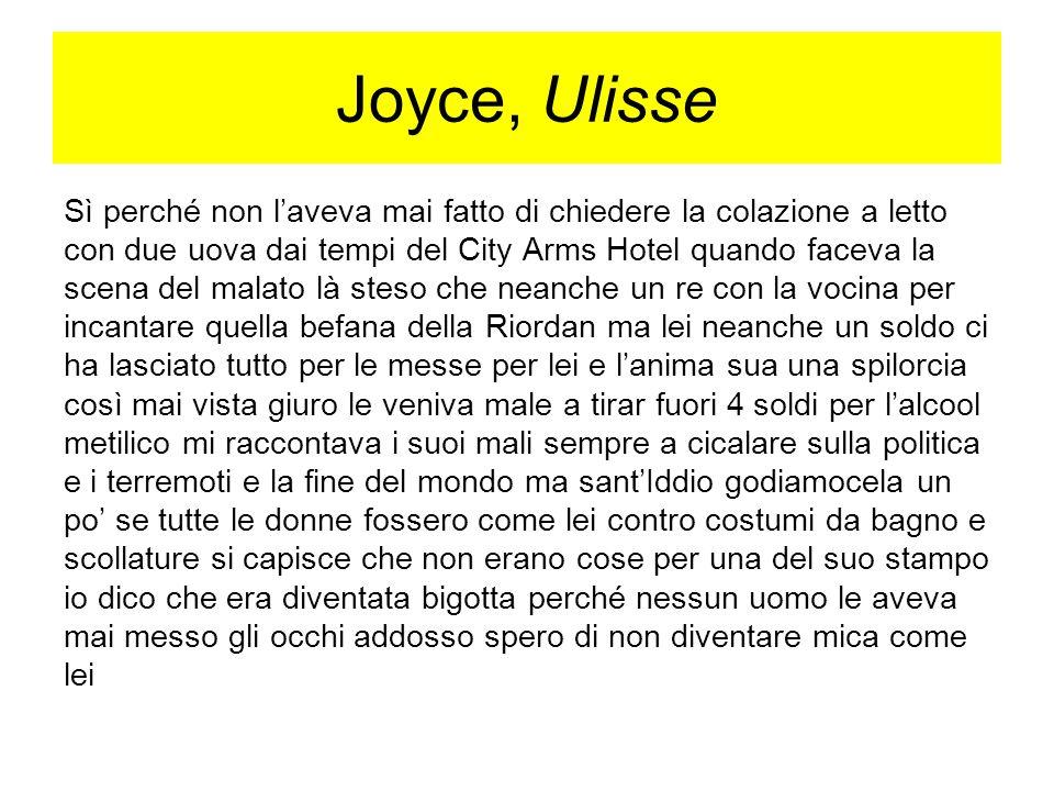 Joyce, Ulisse