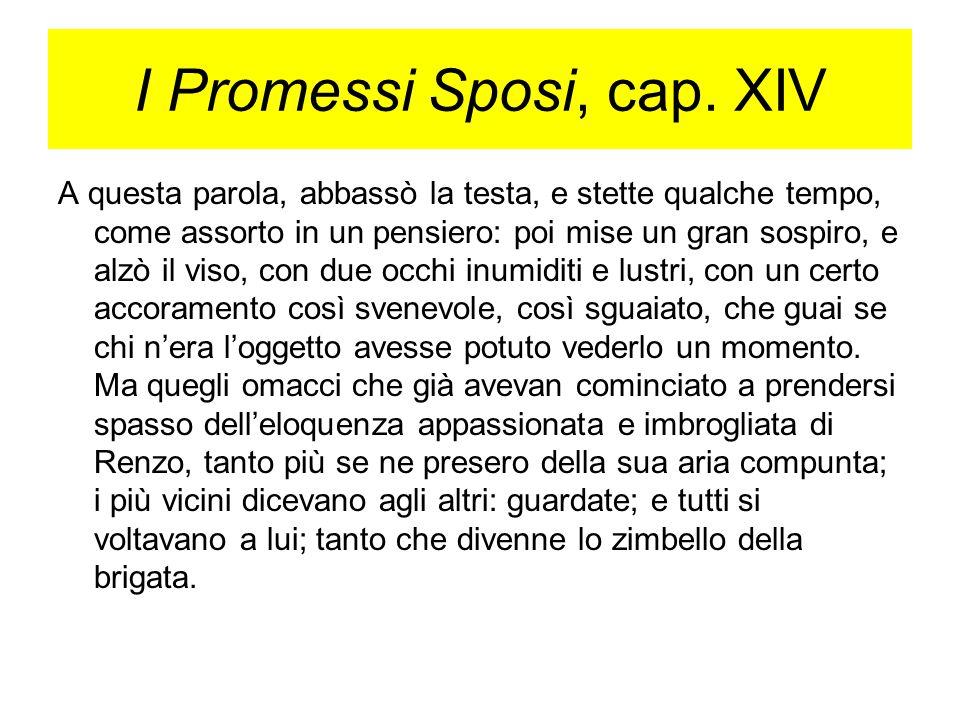 I Promessi Sposi, cap. XIV