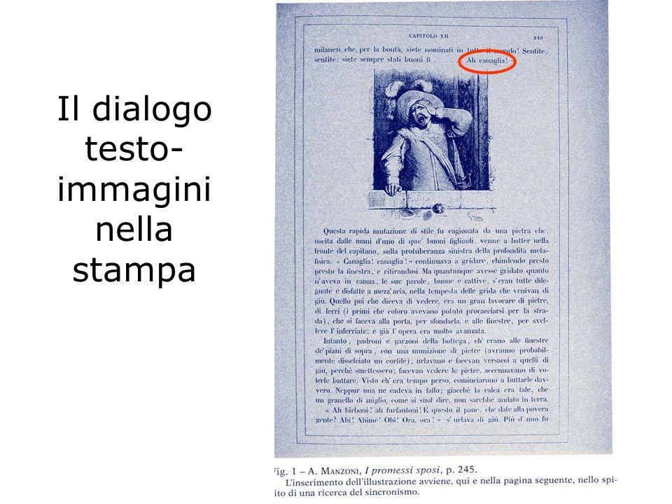 Il dialogo testo-immagini nella stampa