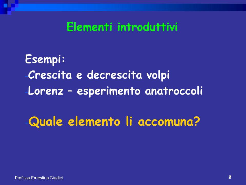 Elementi introduttivi