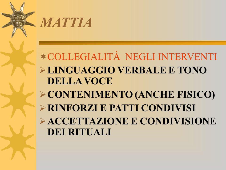 MATTIA COLLEGIALITÀ NEGLI INTERVENTI