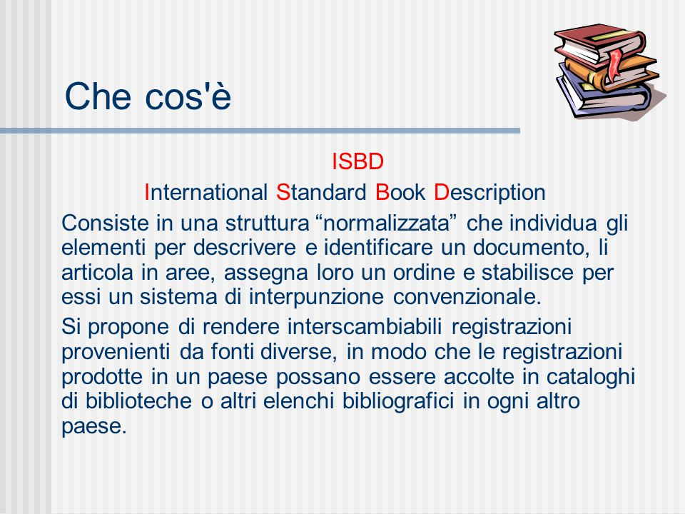 International Standard Book Description