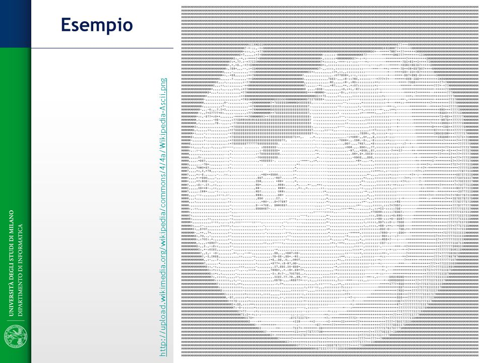 Esempio http://upload.wikimedia.org/wikipedia/commons/4/4a/Wikipedia-Ascii.png