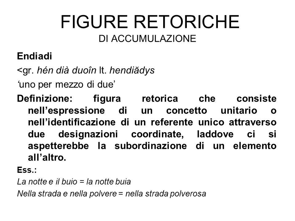 Figure retoriche di accumulazione