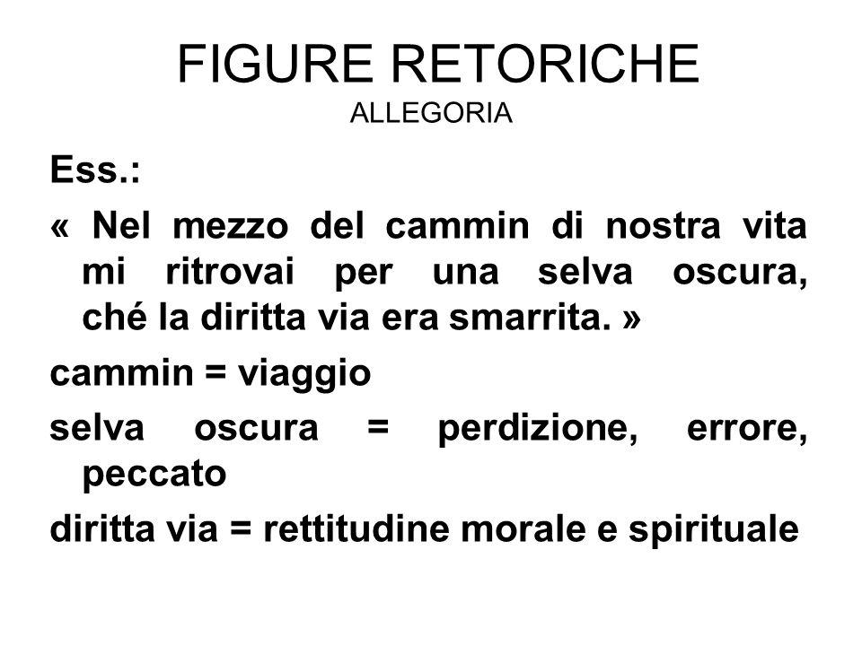 Figure retoriche allegoria