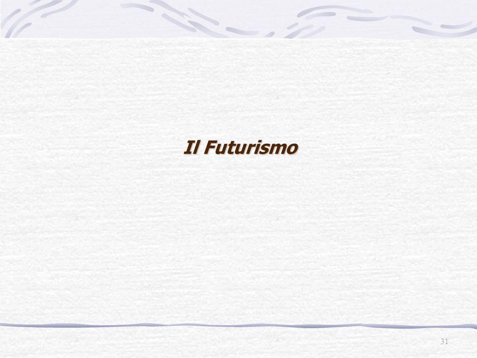 Il Futurismo 31