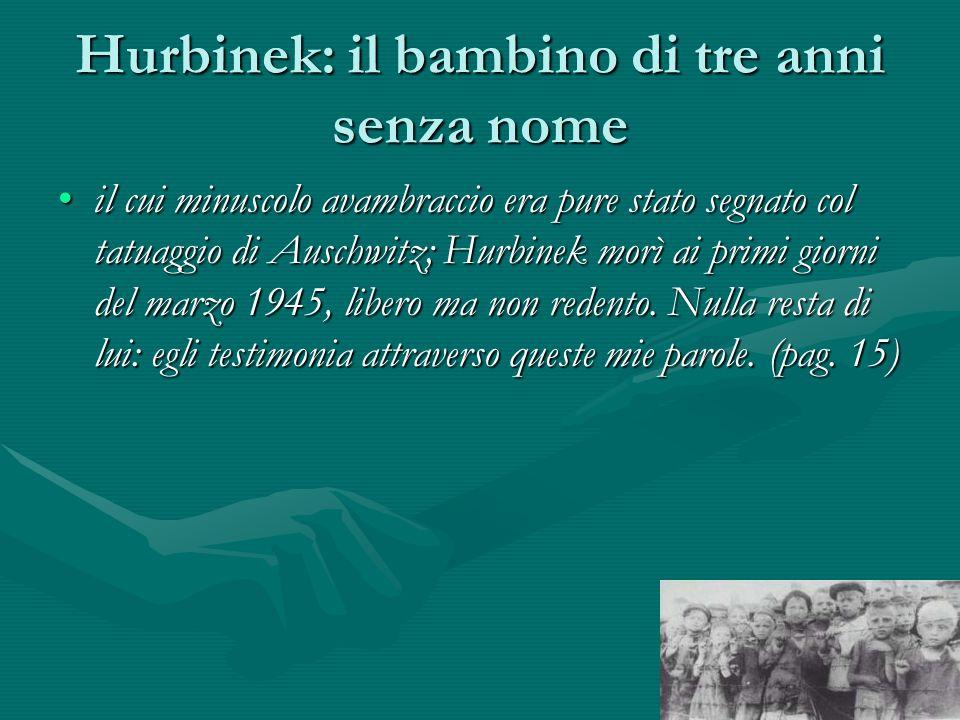Hurbinek: il bambino di tre anni senza nome