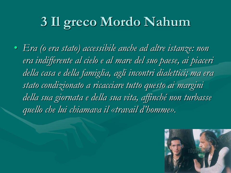 3 Il greco Mordo Nahum