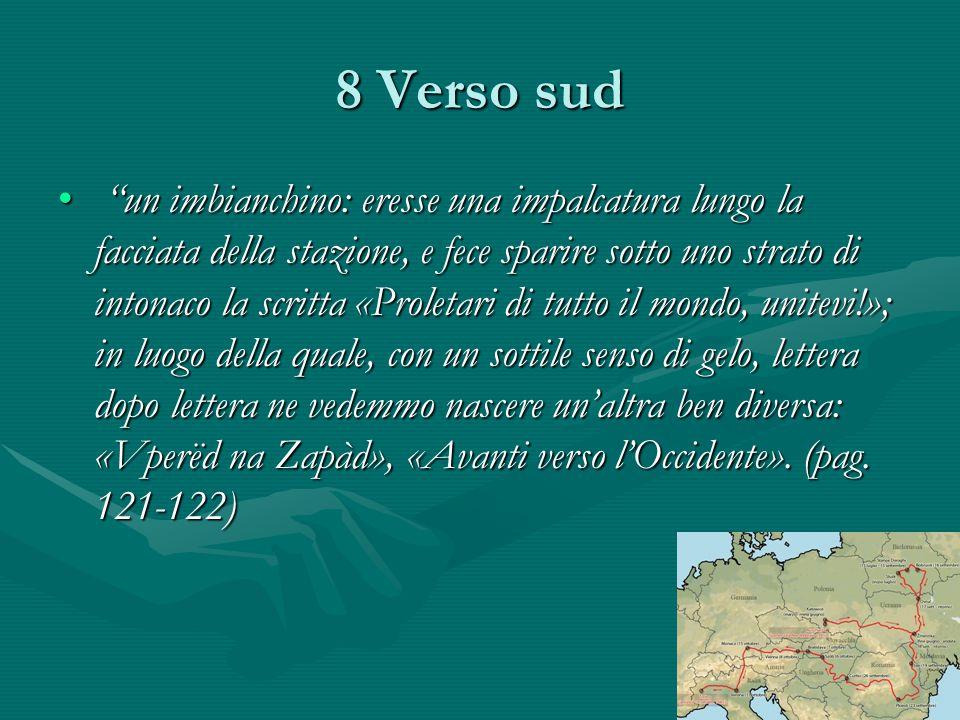 8 Verso sud