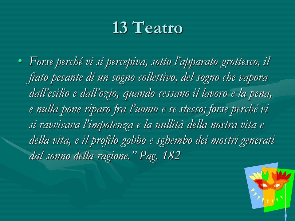 13 Teatro