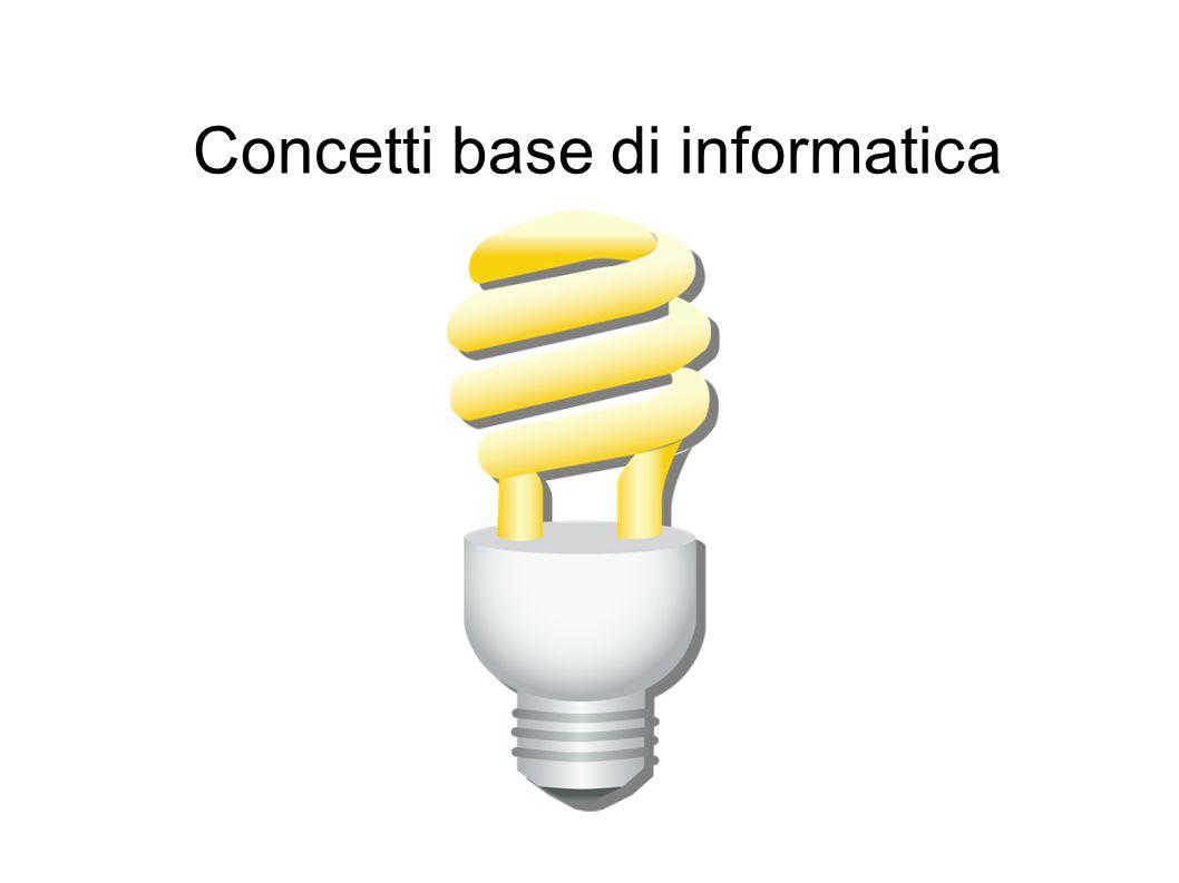 Concetti base di informatica