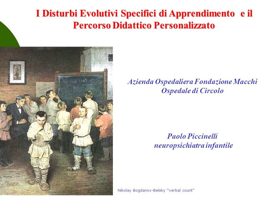 Azienda Ospedaliera Fondazione Macchi neuropsichiatra infantile