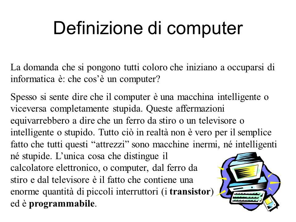 Definizione di computer
