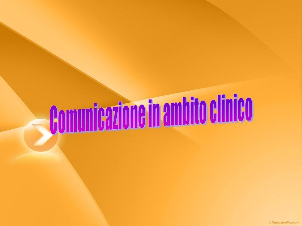 Comunicazione in ambito clinico