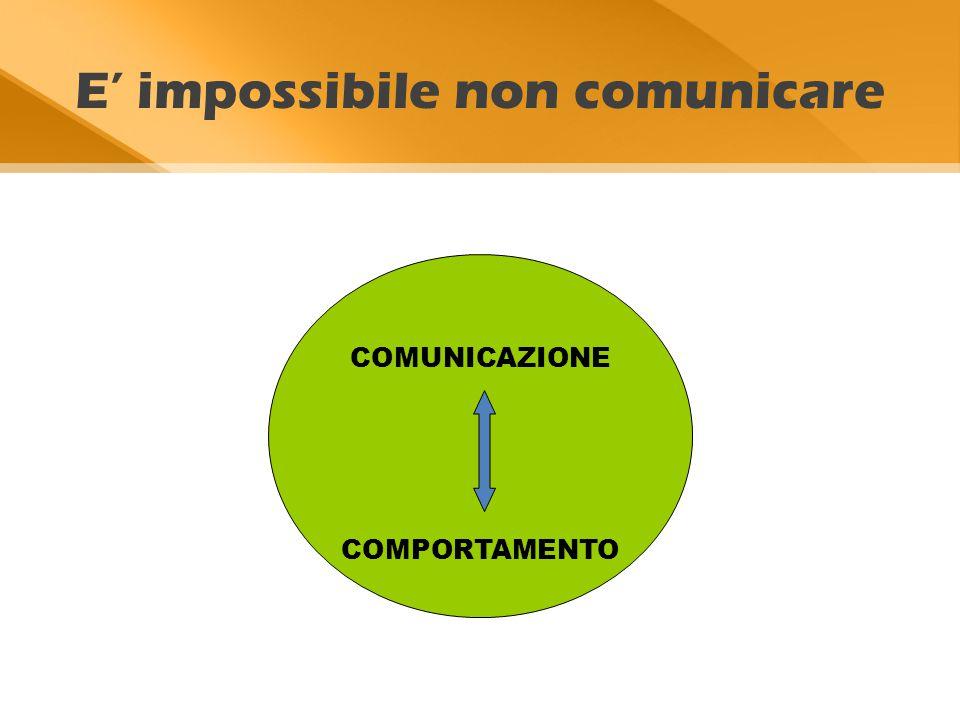 E' impossibile non comunicare