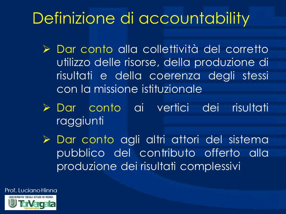 Definizione di accountability