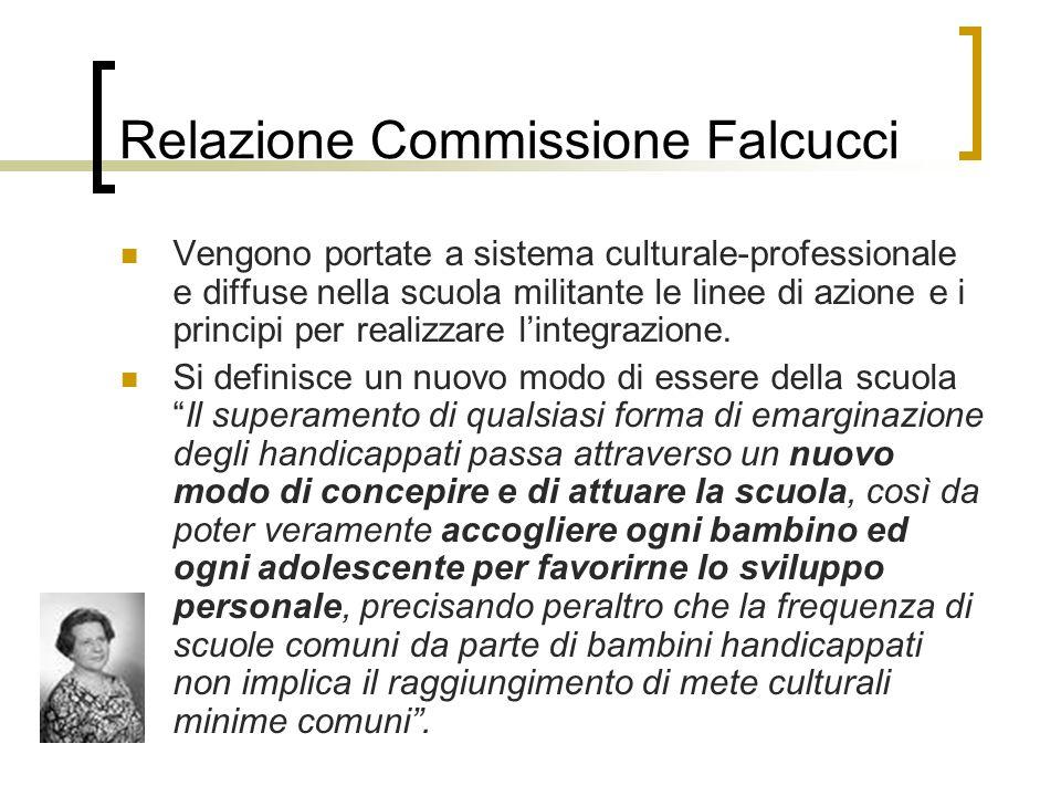 Relazione Commissione Falcucci
