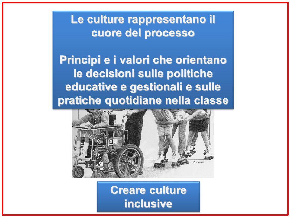 Le culture rappresentano il cuore del processo