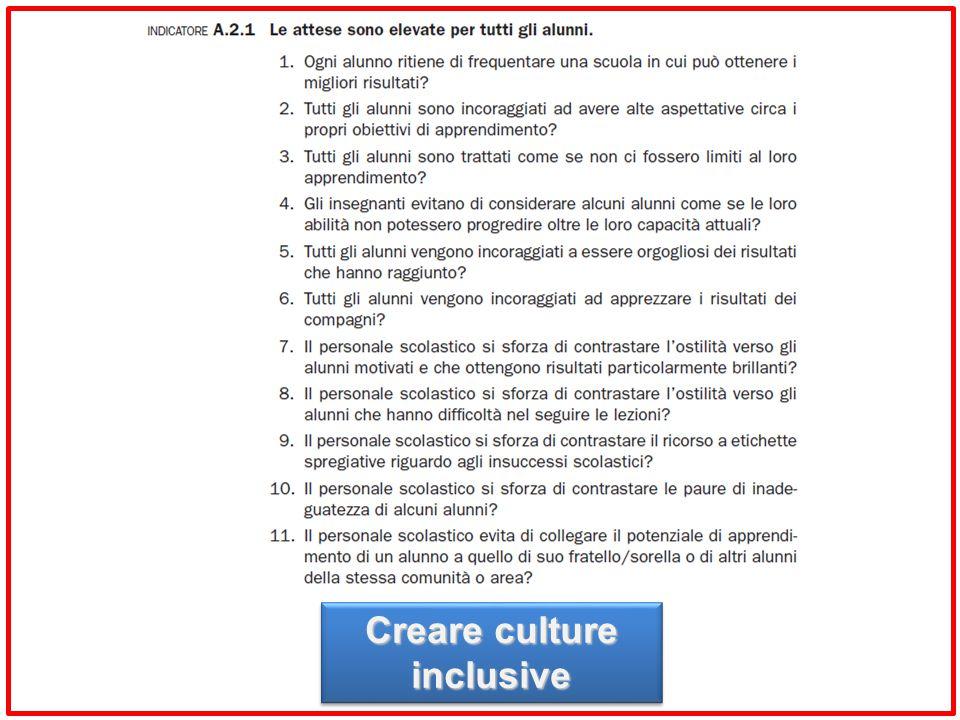 Creare culture inclusive
