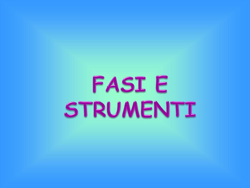 FASI E STRUMENTI