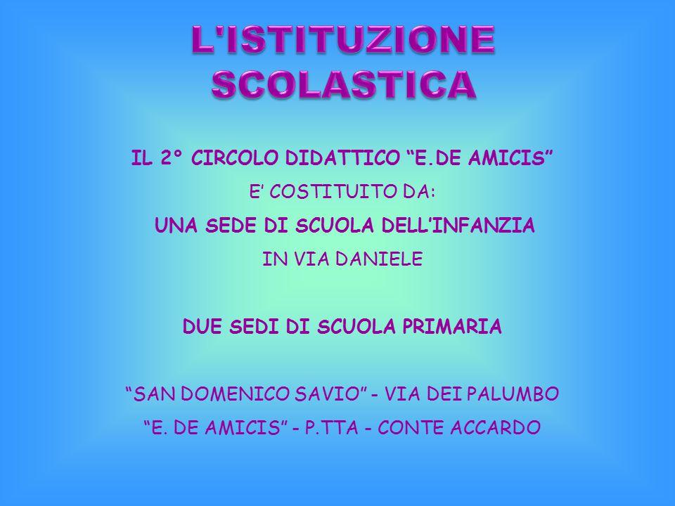 L ISTITUZIONE SCOLASTICA