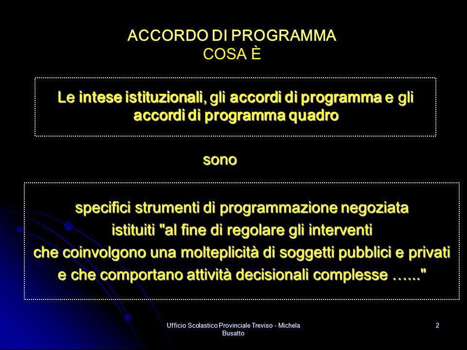 Ufficio Scolastico Provinciale Treviso - Michela Busatto