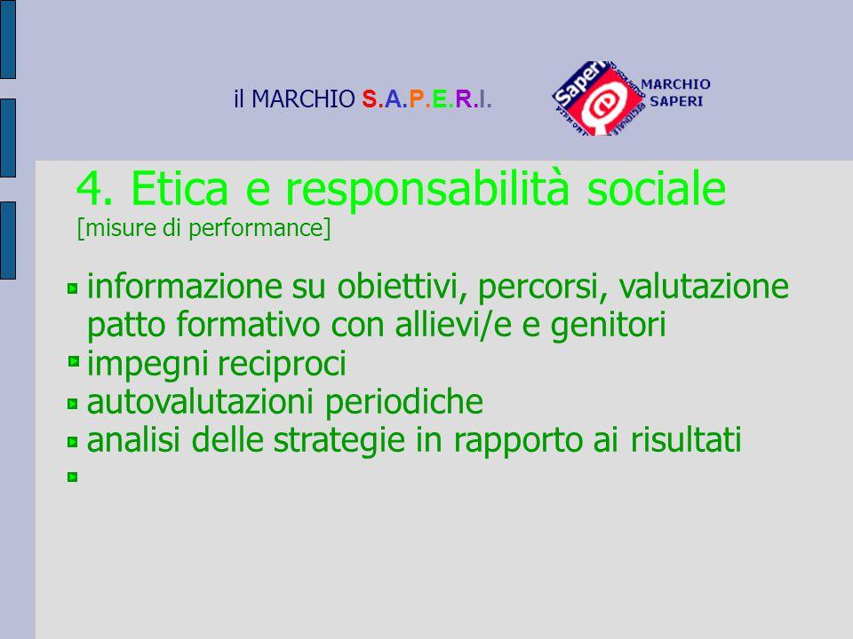 4. Etica e responsabilità sociale
