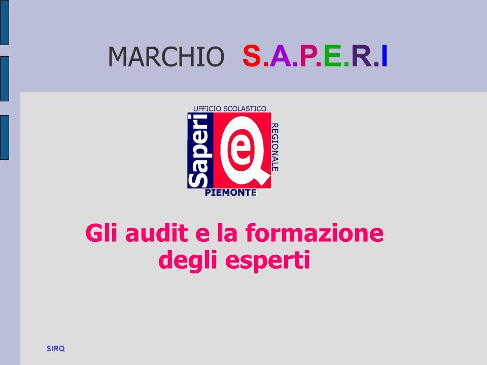 Gli audit e la formazione degli esperti