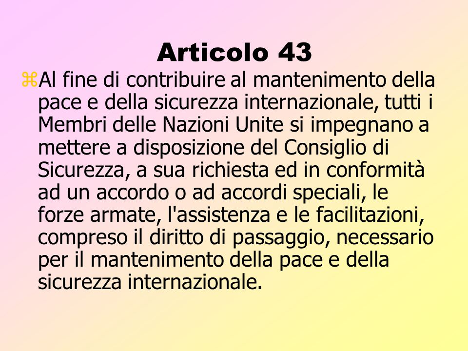 Articolo 43