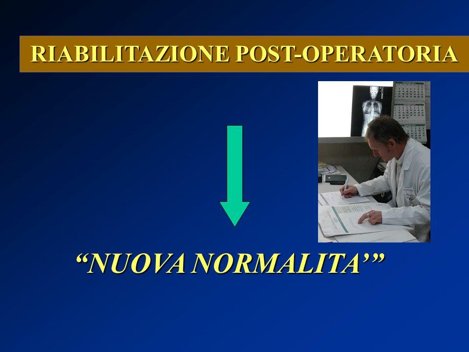 RIABILITAZIONE POST-OPERATORIA