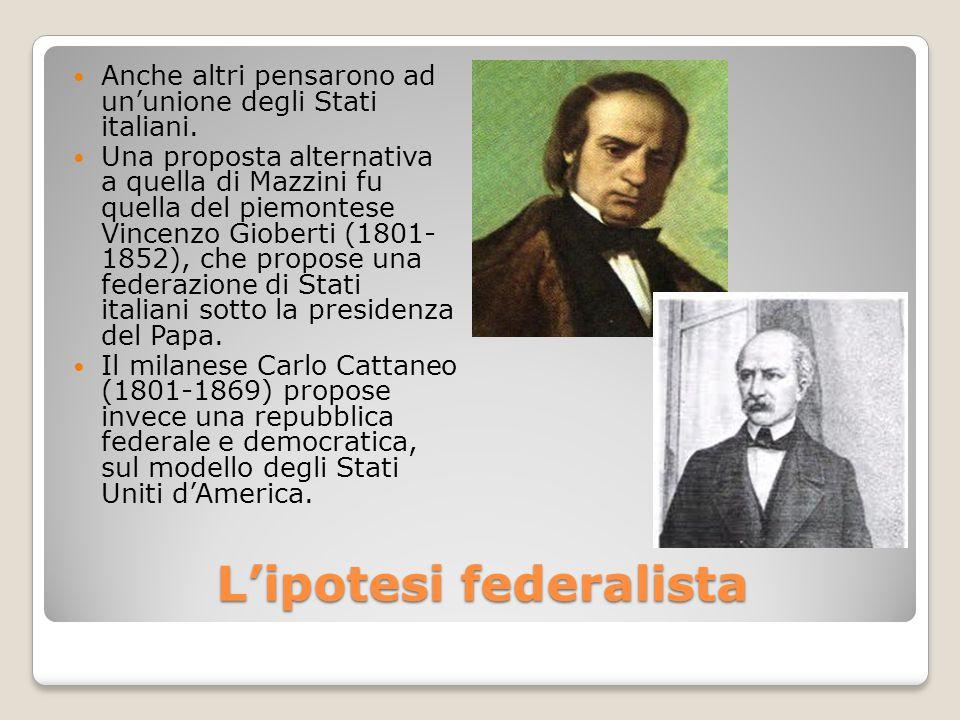 L'ipotesi federalista