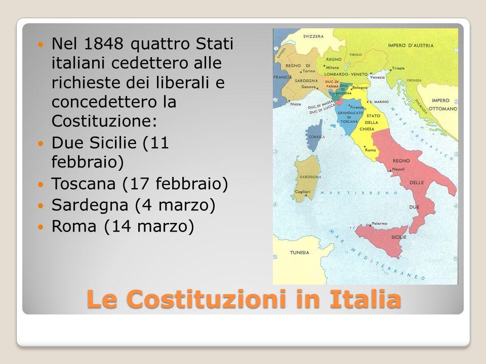 Le Costituzioni in Italia