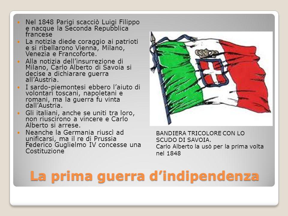 La prima guerra d'indipendenza