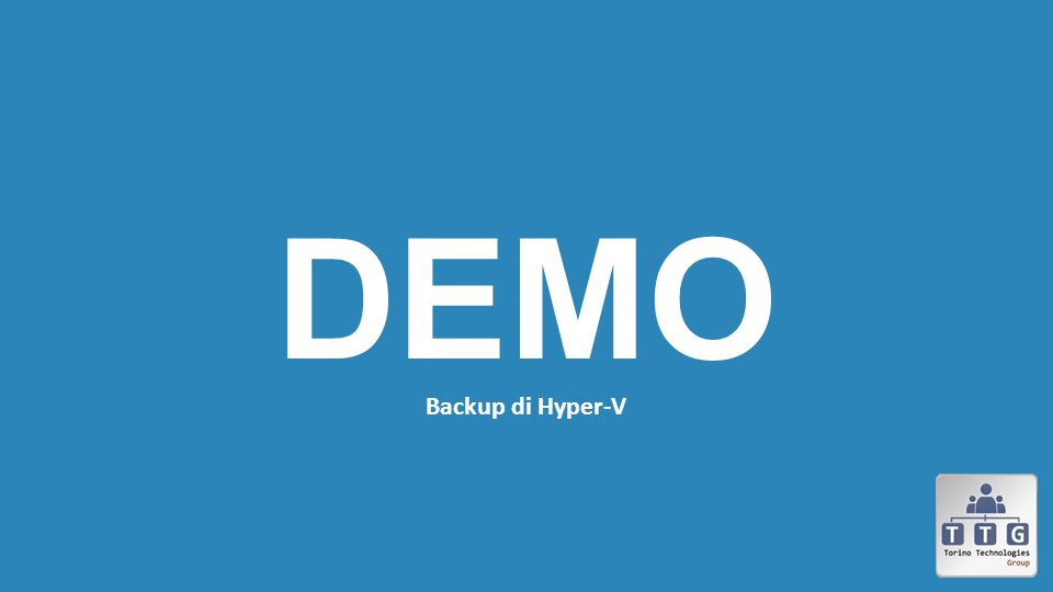 Backup di Hyper-V